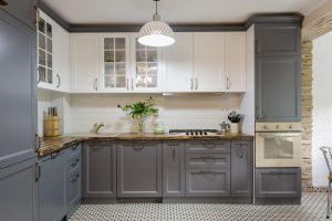 How to Use Two-Toned Cabinets To Brighten Your Kitchen