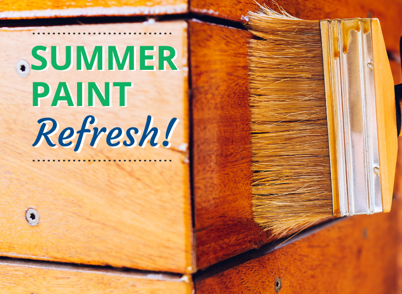 Read more about the article Summer Paint Refresh!